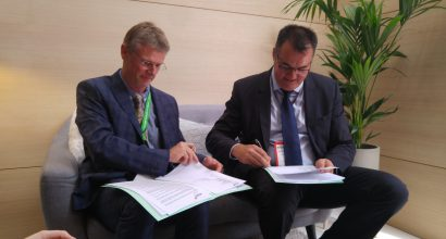 EJS sign ATR42/72 rotable spares support contract with Sabena Technics Dinard.
