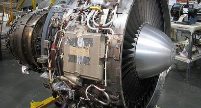 ASL Airlines ALF engine spares at Vector Aerospace Gosport.