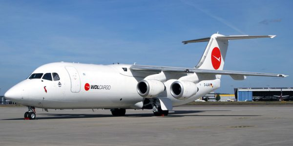 EJS complete the sale of 3 BAE146-300QT aircraft to WDL Aviation.