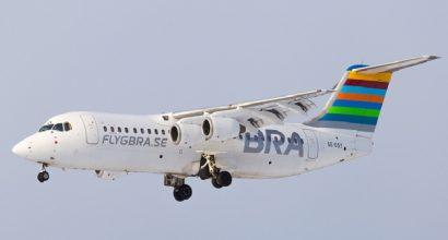 EJS complete purchase of BAe Avro RJ100 MSN E3263