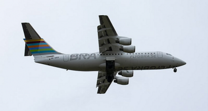 EJS complete the sale of RJ100 MSN E3255 to Air Libya