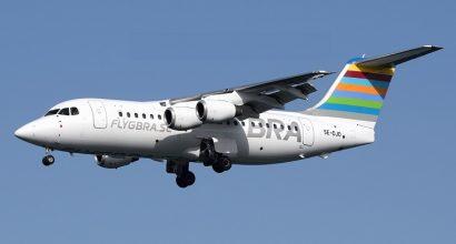 EJS COMPLETE PURCHASE OF TWO BAE AVRO RJ85s MSN E2226 & E2231